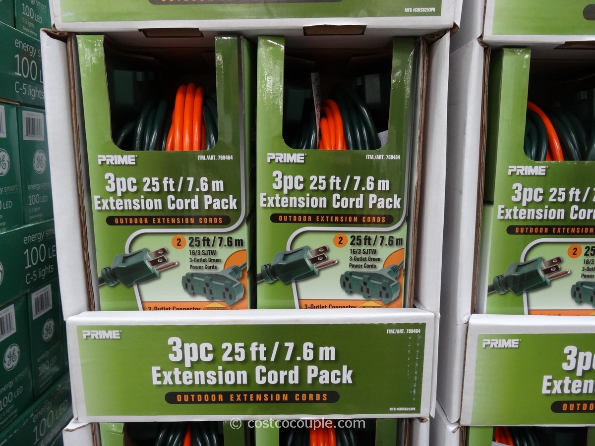 Prime Outdoor Extension Cord Pack Costco 1