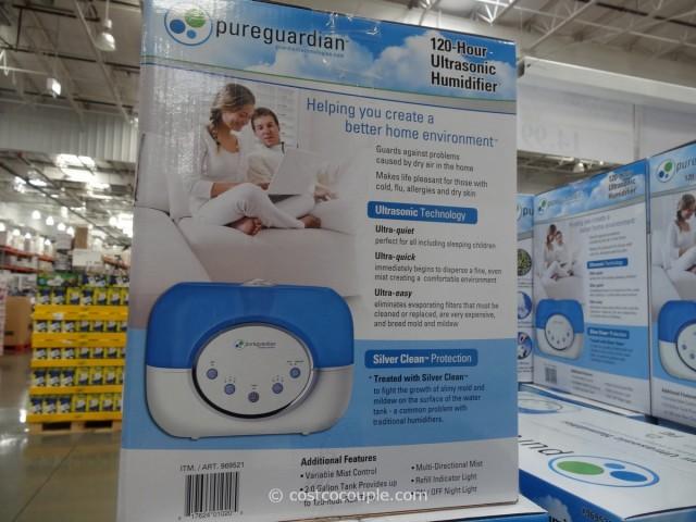 Pure Guardian Ultrasonic Humidifier Costco 2