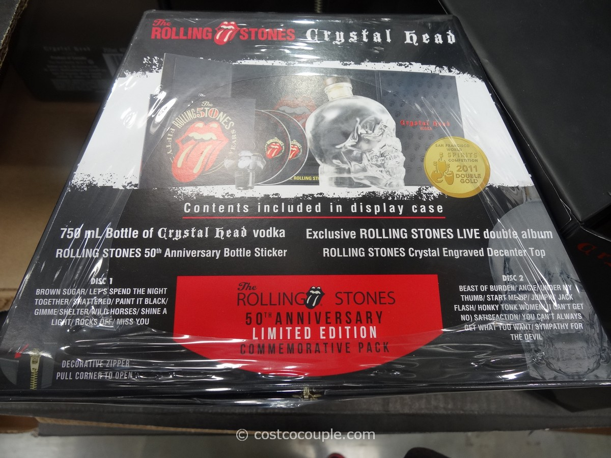Rolling Stone Crystal Head Vodka