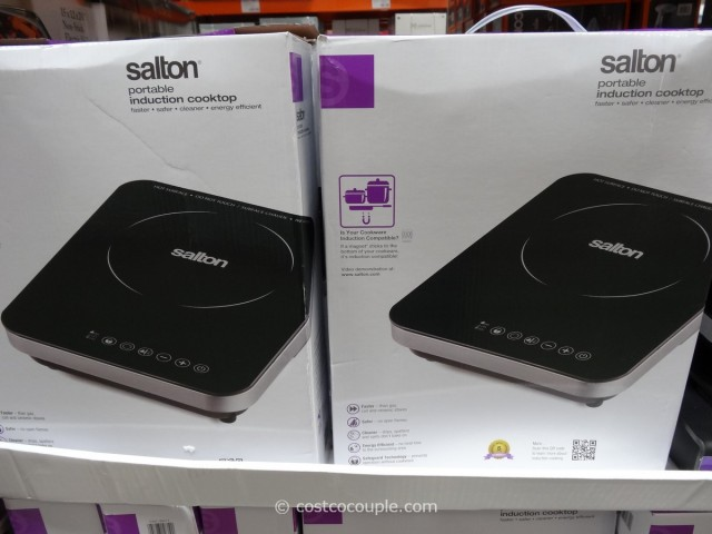 Salton Portable Induction Cooktop Costco 2