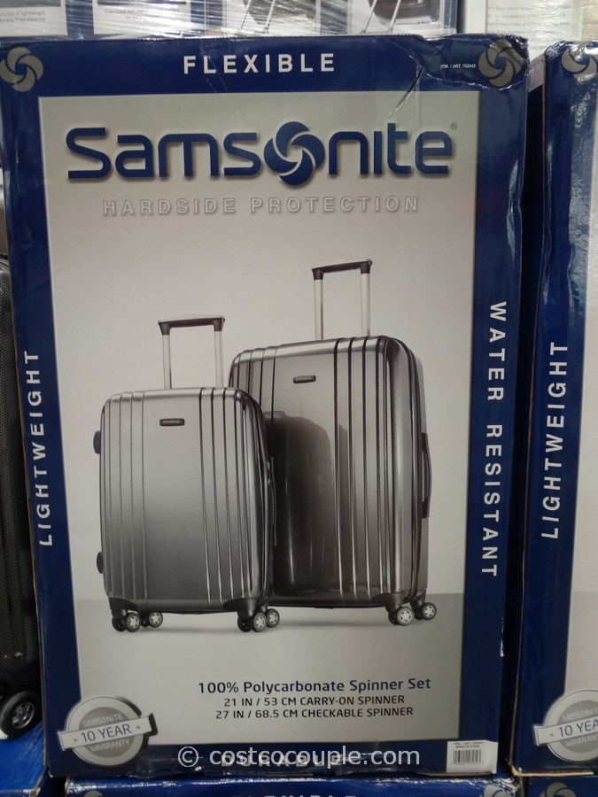 Samsonite 2 Piece Hardside Spinner Set