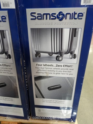 Samsonite 2-Piece Hardside Spinner Set Costco 4
