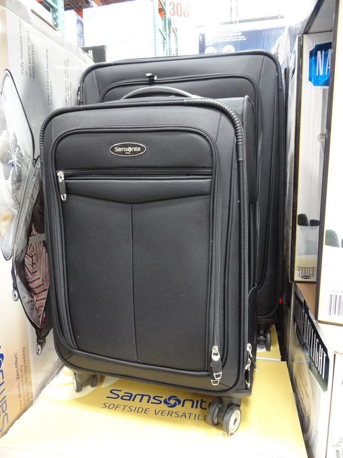 Samsonite 2-Piece Softside Spinner Set Costco 6