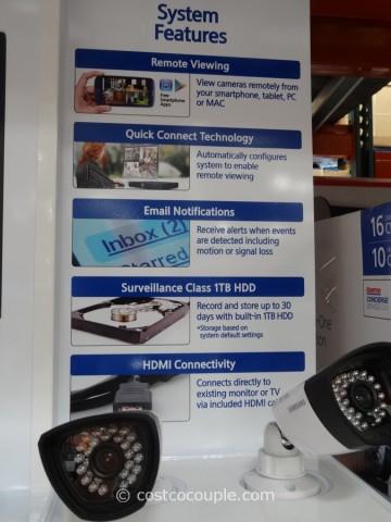 Samsung 16 Channel 10 Camera Surveillance System