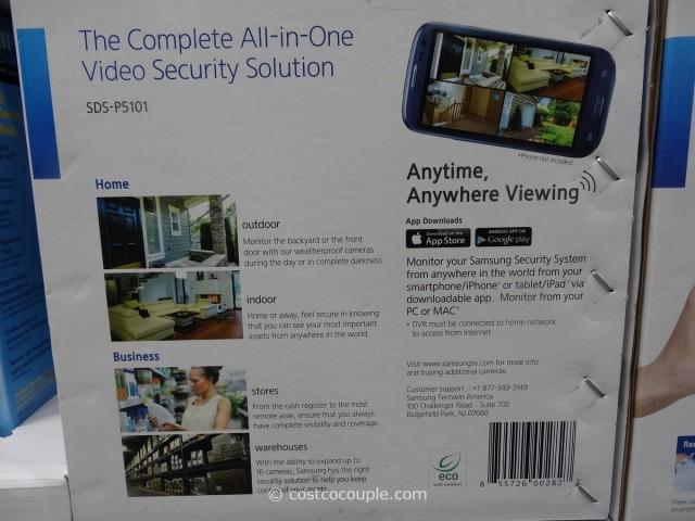 Samsung 16 Channel 10 Camera Surveillance System Costco 7
