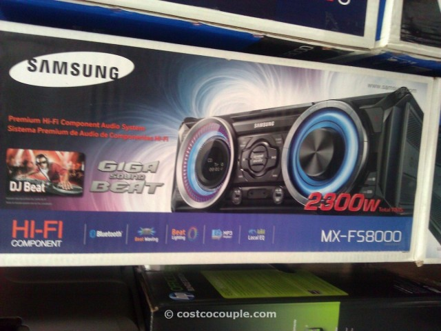 Samsung Giga Sound System with Bluetooth Costco 1