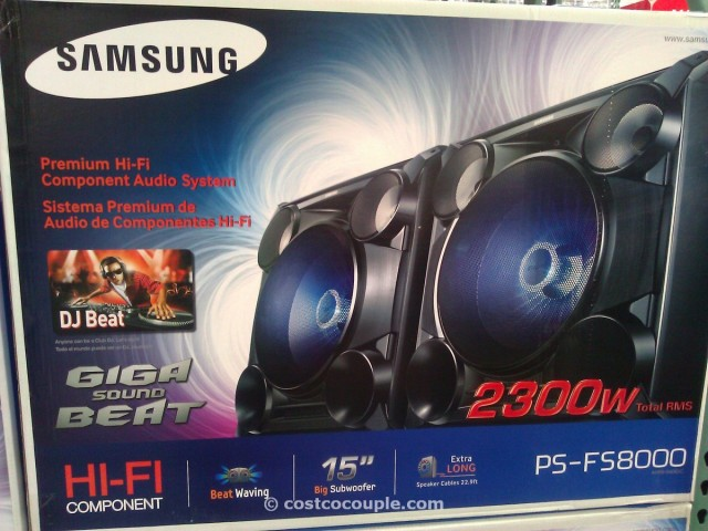 Samsung Giga Sound System with Bluetooth Costco 2