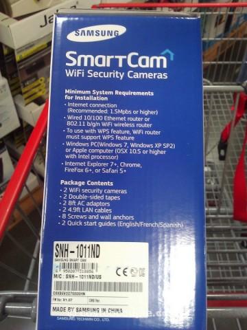 Samsung WiFi Security Cameras Costco 4