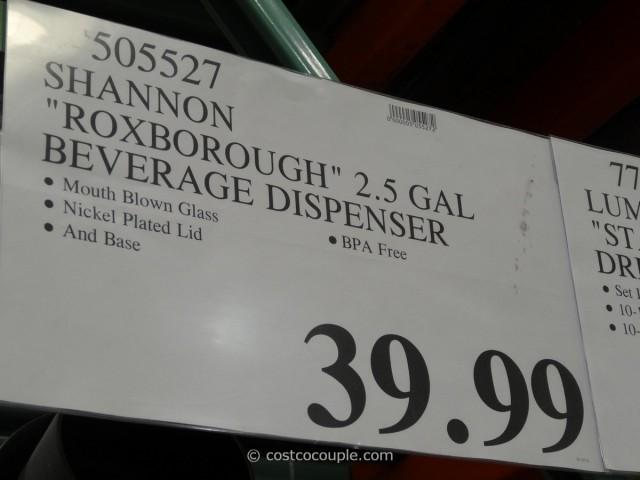 Shannon Roxborough Beverage Dispenser Costco 2