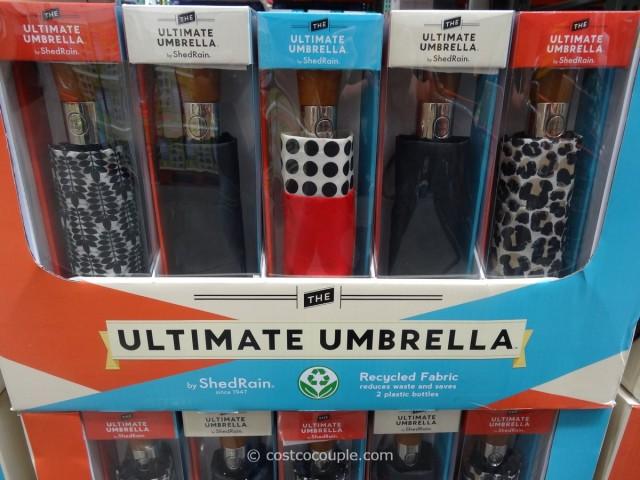 Shedrain Ultimate Umbrella Costco 1