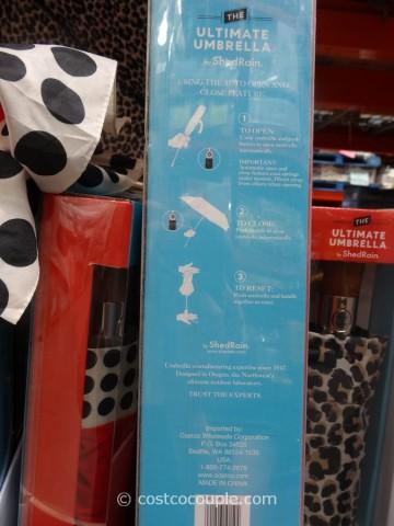 Shedrain Ultimate Umbrella Costco 5