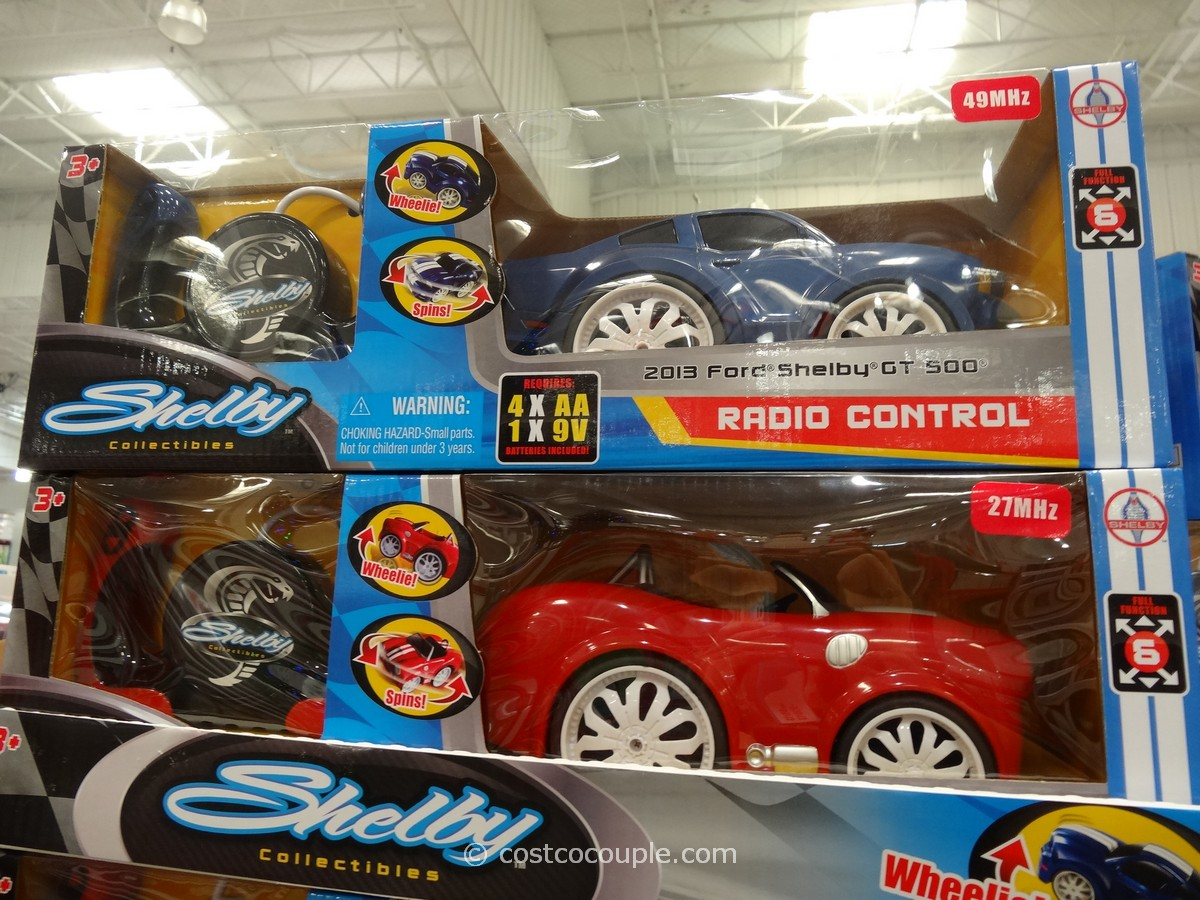 Costco Toy Cars : Shelby collectibles radio control car