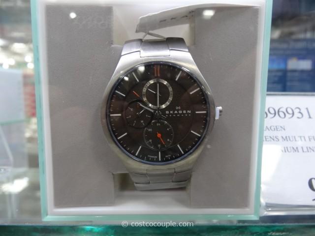 Skagen Multi-Function Titanium Link Watch Costco 1