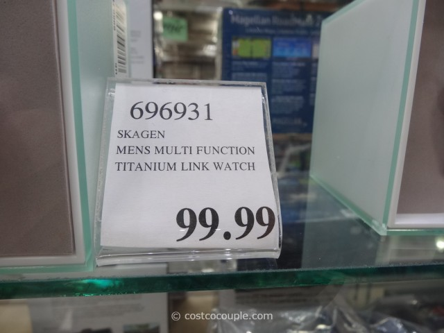 Skagen Multi-Function Titanium Link Watch Costco 2