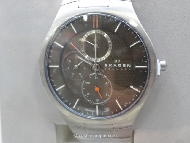 Skagen Multi-Function Titanium Link Watch Costco 3