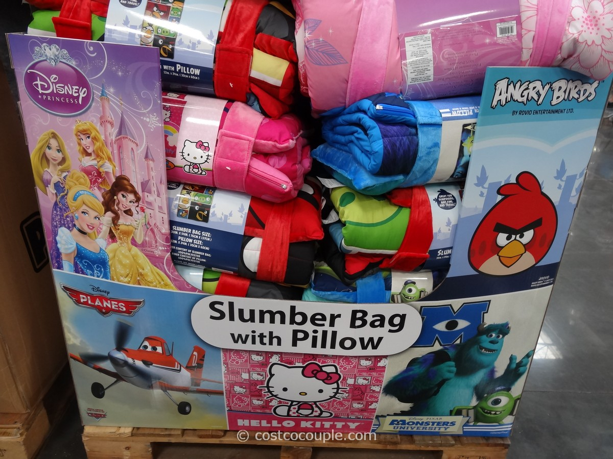 Slumber Bag with Pillow Costco 1