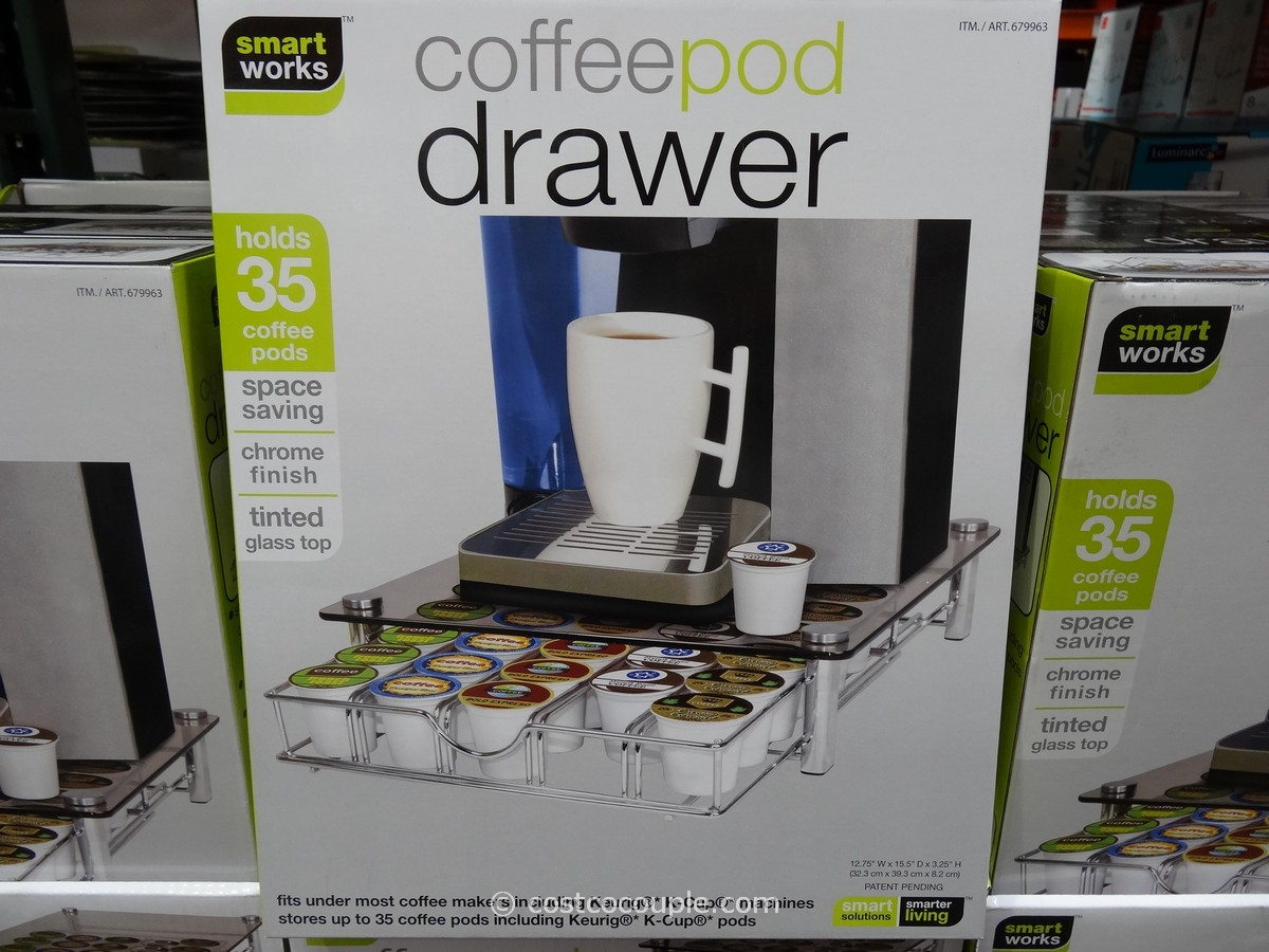 Smartworks Coffee Pod Drawer Costco 2