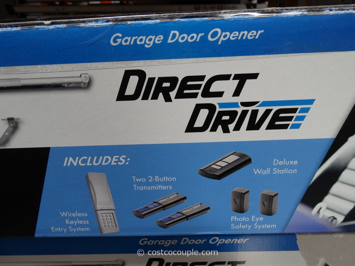 900 #0F4786 Sommer Direct Drive Garage Door Opener Costco 2 pic Garage Doors At Costco 36911200