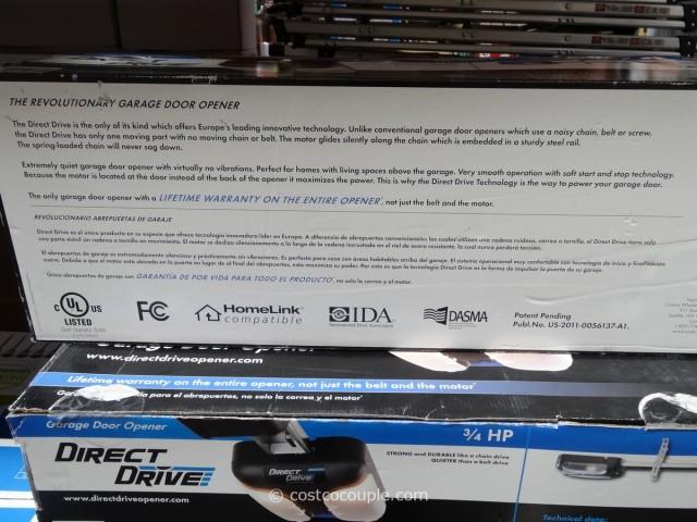 Sommer Direct Drive Garage Door Opener Costco 5