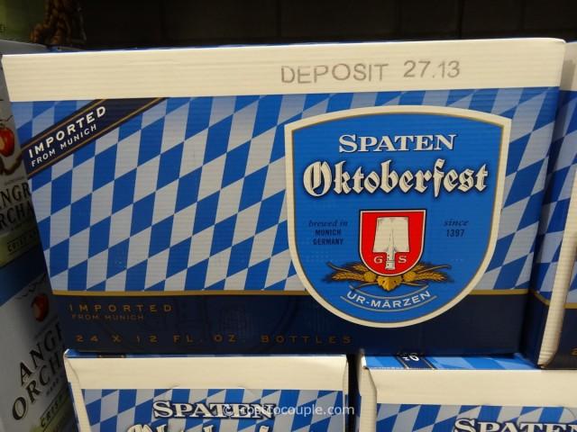 Spaten Oktoberfest German Marzen Beer Costco 1