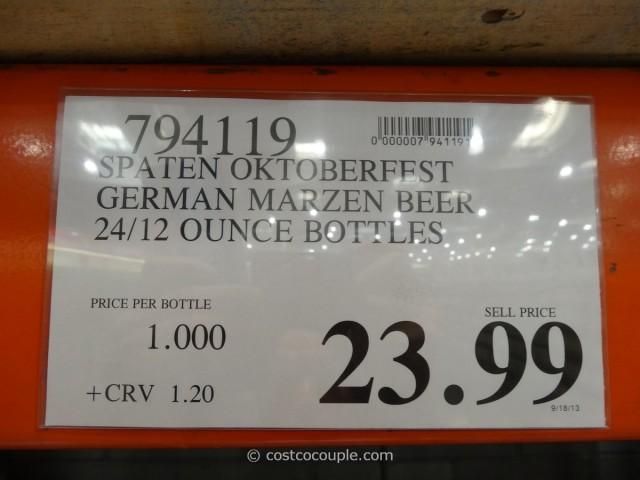 Spaten Oktoberfest German Marzen Beer Costco 2