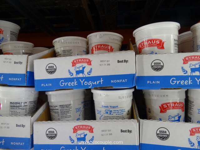 Straus Organic Nonfat Greek Yogurt Costco 1