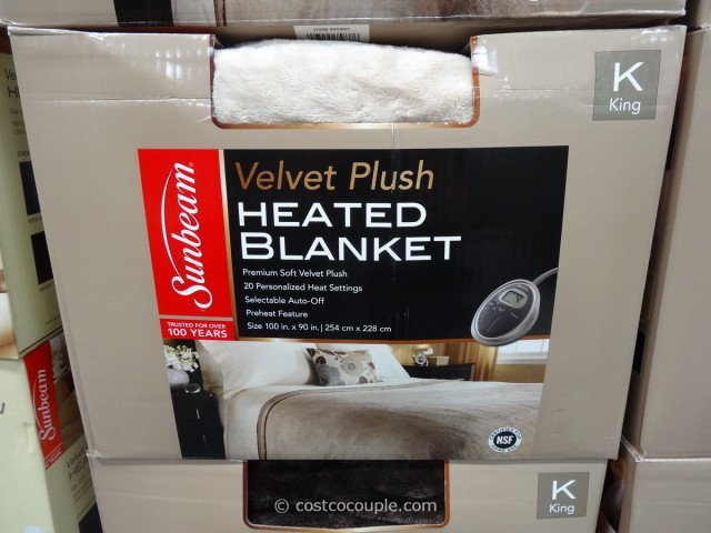 Sunbeam King Size Heated Blanket Costco 1