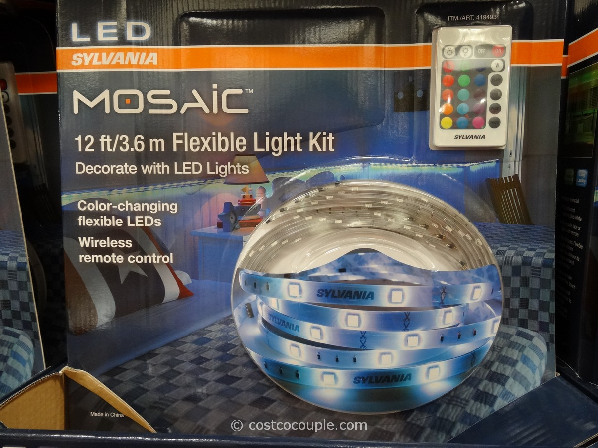 Sylvania Mosaic LED Flexible Light Kit Costco 1