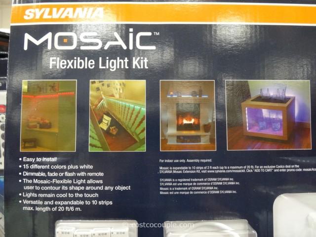 Sylvania Mosaic LED Flexible Light Kit Costco 3