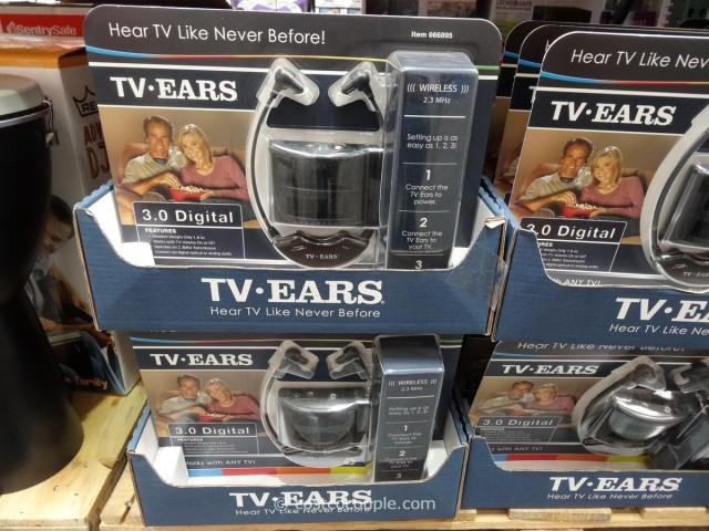 TV Ears 3.0 Headset Costco 2