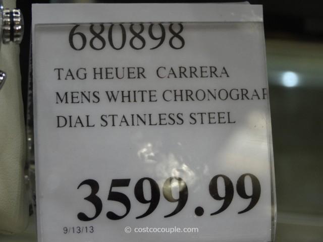 Tag Heuer Carrera White Chronograph Costco 3