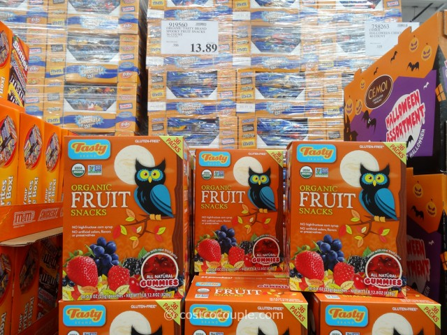 Tasty Brand Organic Spooky Fruit Snack Costco