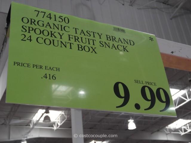 Tasty Brand Spooky Organic Fruit Snacks Costco 3