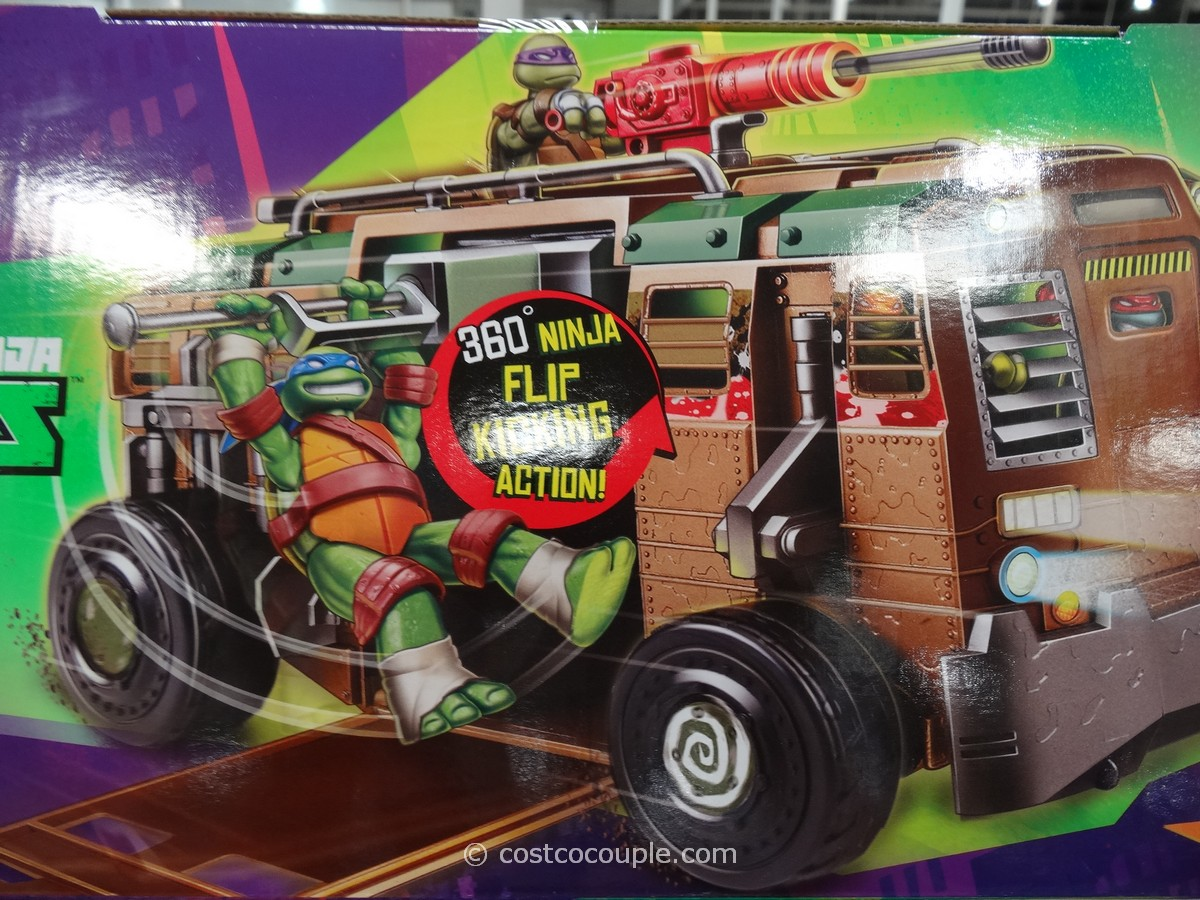 Teenage Mutant Ninja Turtles ShellRaiser Costco 5