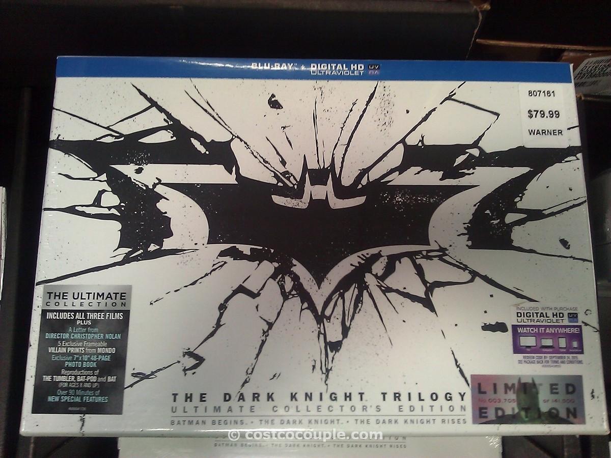 The Dark Knight BluRay Trilogy Collectors Edition Costco 2