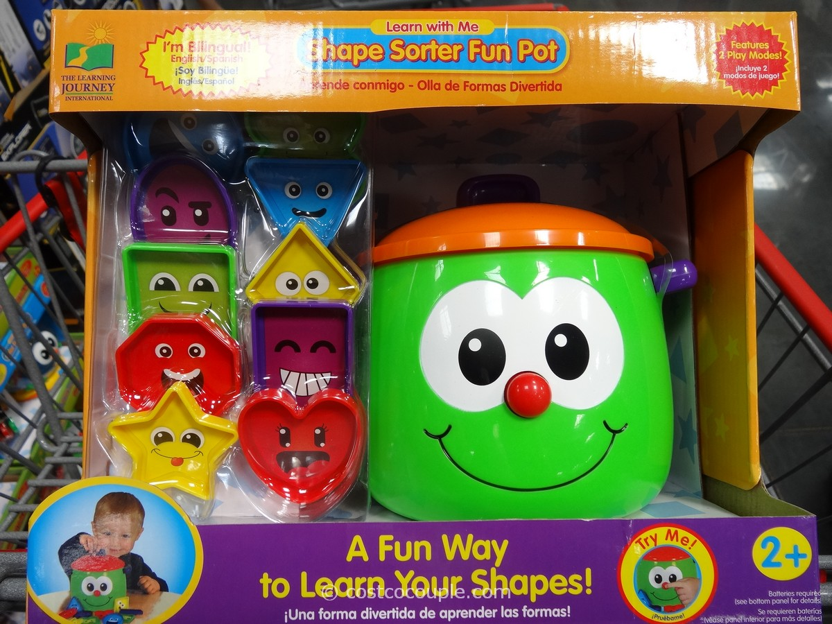 The Learning Journey Shape Sorter Fun Pot Costco 1