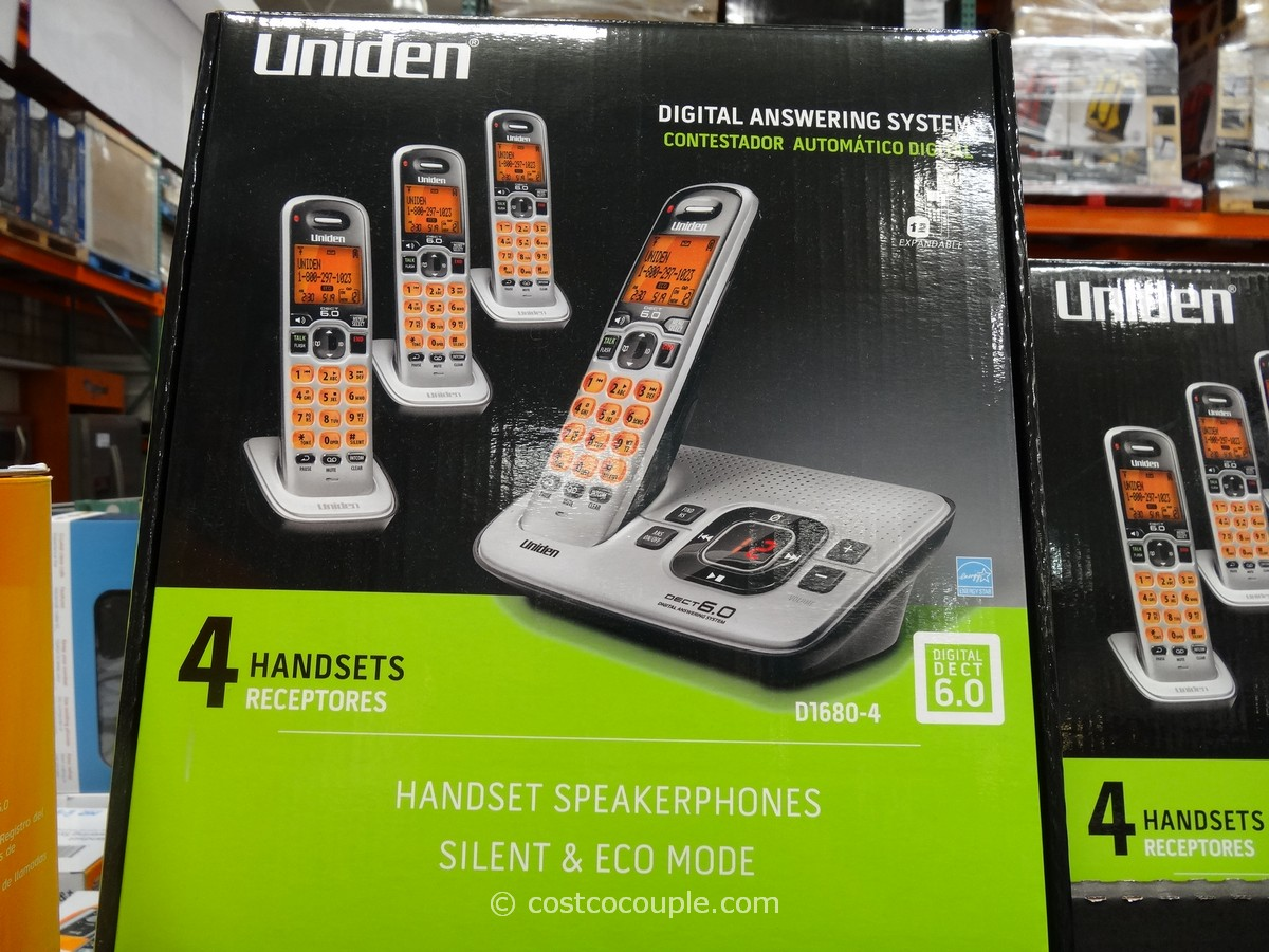 Uniden Dect 6.0 Cordless Phone Set Costco 1