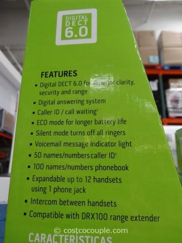 Uniden Dect 6.0 Cordless Phone Set Costco 4