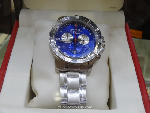 Wenger Swiss Regiment Sport Chronograph Watch Costco 2
