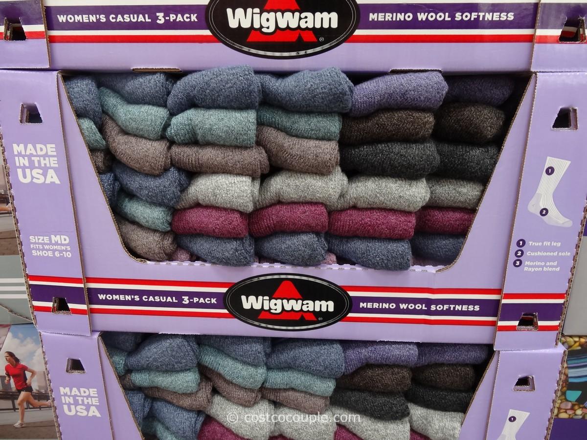 Wigwam Ladies Merino Wool Blend Socks Costco 1