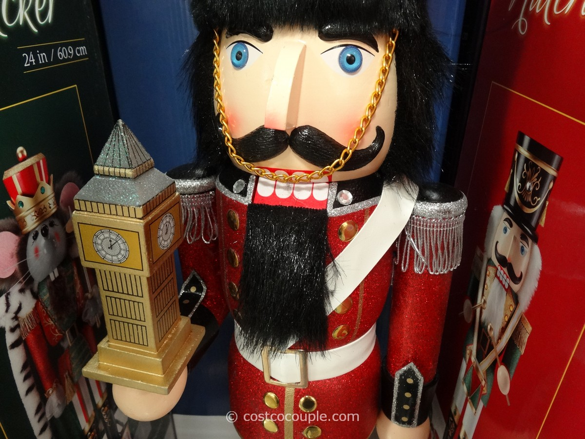 Wooden Nutcracker Costco 3