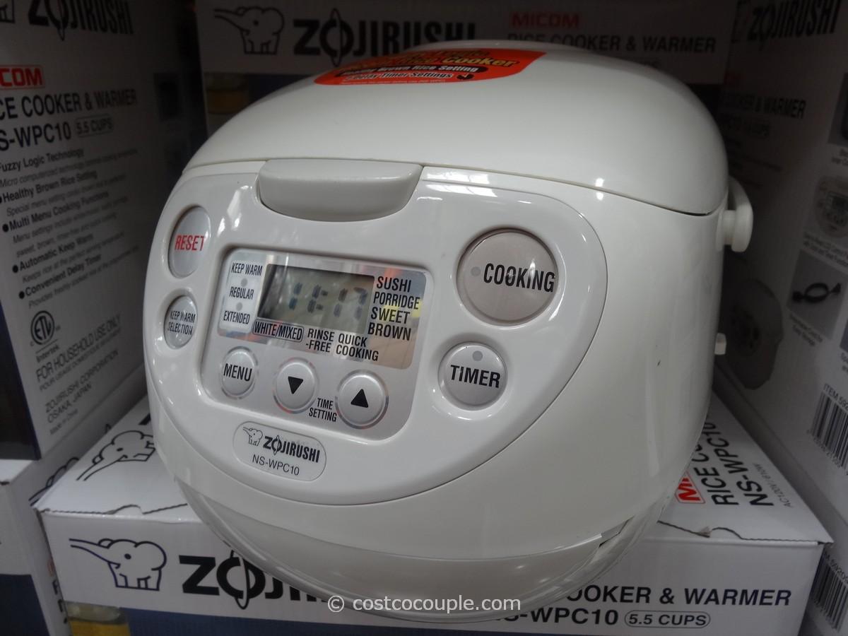 Zojirushi 5.5Cup Fuzzy Logic Rice Cooker Costco 1