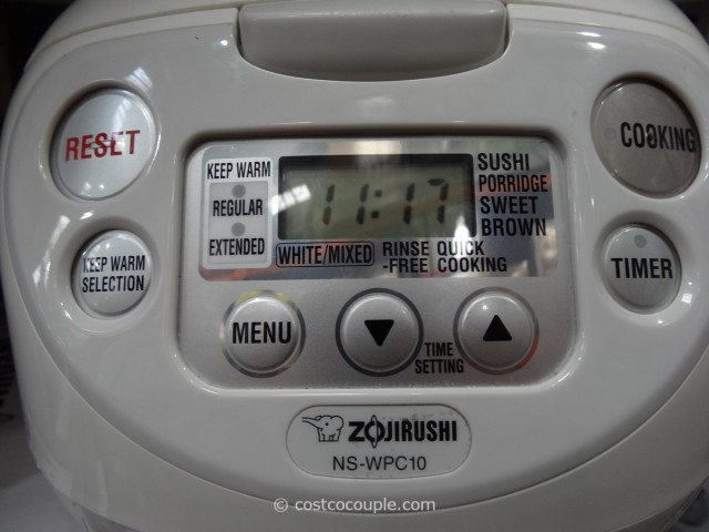 Zojirushi 5.5Cup Fuzzy Logic Rice Cooker Costco 2