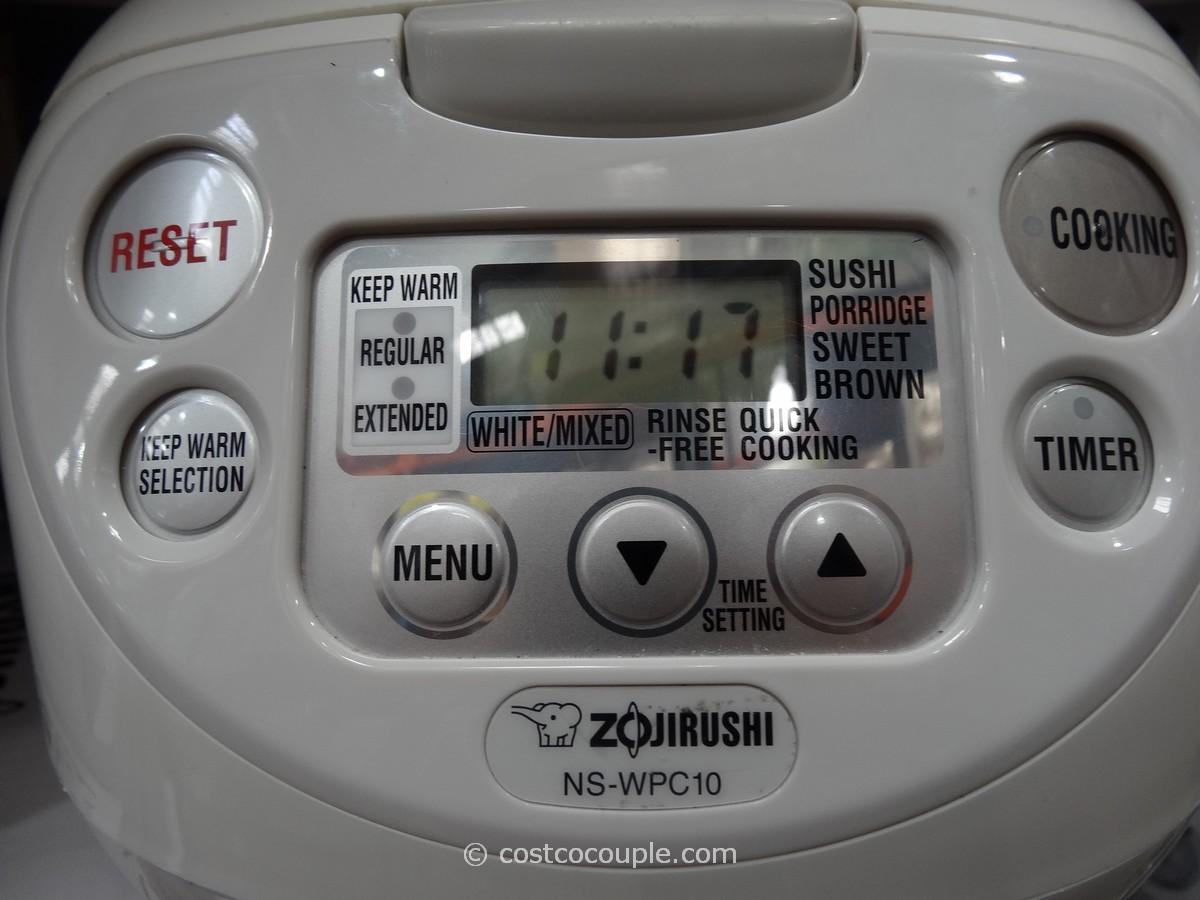 Zojirushi 55cup Fuzzy Logic Rice Cooker Costco 2