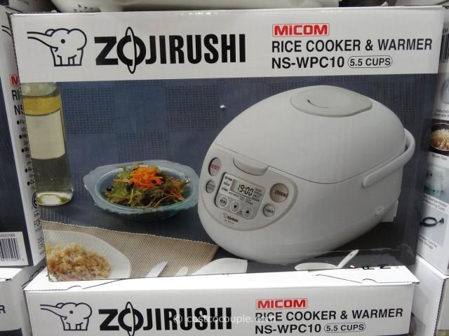 Zojirushi 5.5Cup Fuzzy Logic Rice Cooker Costco 3