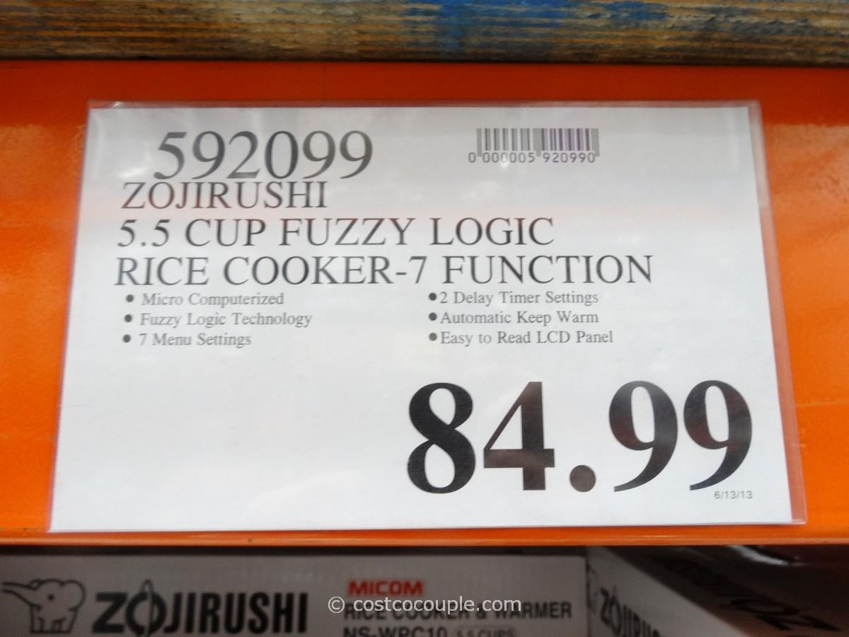 Zojirushi 5 5 Cup Fuzzy Logic Rice Cooker