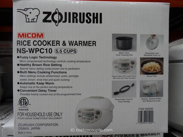 Zojirushi 5.5Cup Fuzzy Logic Rice Cooker Costco 5