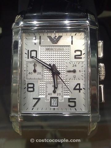 Emporio Armani Chronograph Watch Costco 2