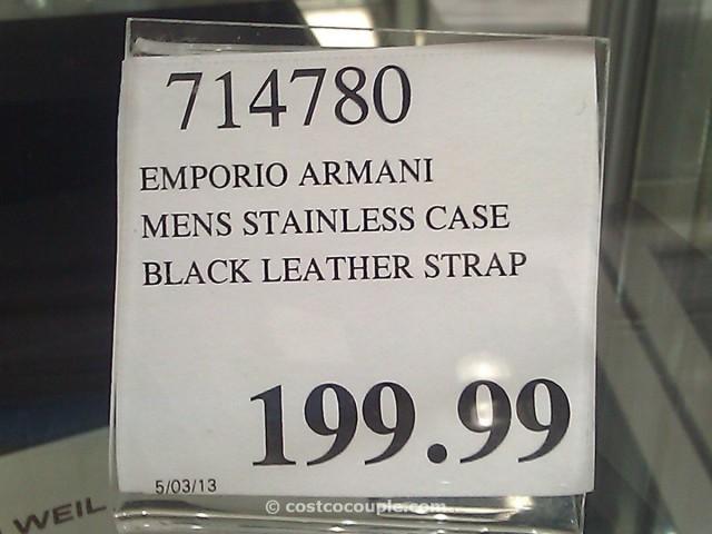 Emporio Armani Chronograph Watch Costco 3