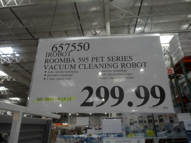 iRobot Roomba 595 Pet Series Costco 5